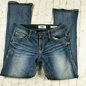 Denim - Day Trip Virgo Boot Cut Denim Jeans Size 27 S
